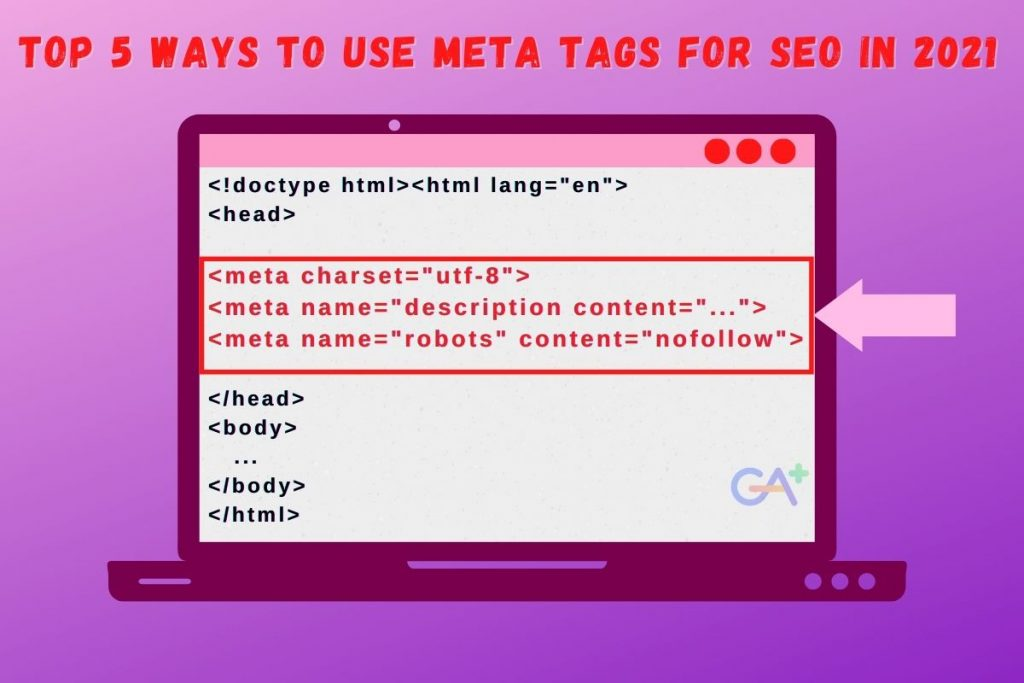 Top 5 Ways to Use Meta Tags for SEO in 2021